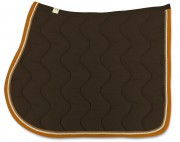 Cotton Saddle Pad-Wave Stitching-personnalisable - RG Italy