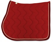Bingo Saddle Pad-Wave Stitching-personnalisable - RG Italy