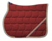 LARGE RHINESTONE Quadro Saddle Pad-personnalisable - Anna Scarpati