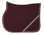 GREAT RHINESTONE Quer Saddle Pad -personnalisable - Anna Scarpati