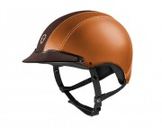 Epona Cuir Riding Helmet-personnalisable - Egide