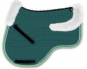 Eurofit Saddle Pad With Lambskin Panels-personnalisable - Mattes
