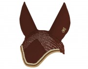 Egyptian Cotton Embroidered Ear Bonnet-personnalisable - Mattes