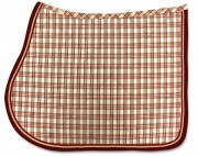 Madras Saddle Pad-personnalisable - RG Italy