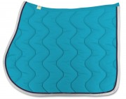Cotton Saddle Pad-Decorative Strip-personnalisable - RG Italy