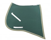 Baroque-Square Saddle pad-personnalisable - Mattes